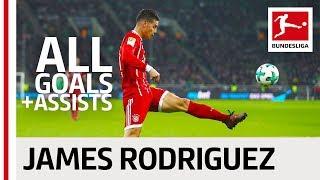 James Rodriguez - All Goals and Assists 2017/18