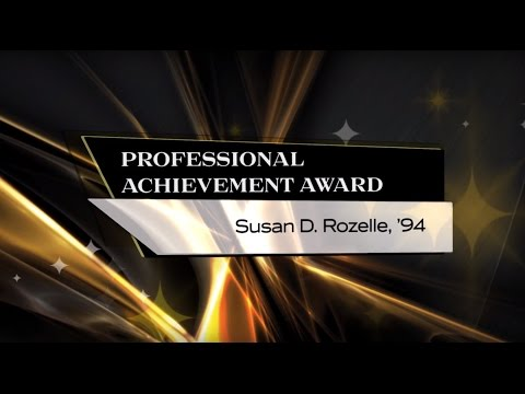 Susan Rozelle, '94, - 2015 UCF Professional Achievement Award Winner - BHC