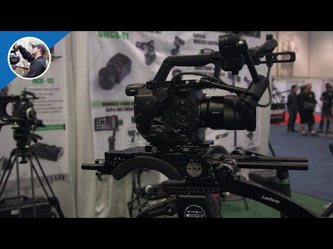 NAB 2016:  LanParte Rig and Accessories for Sony FS5 (4K)