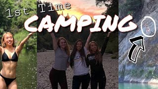 1st time camping with my besties!