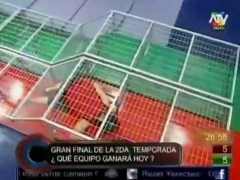 Combate GranFinal SegundaTemporada Circuito Cerrado 03/08/2012 HD