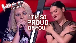 "Jessie J's ""little sister"" in The Voice 