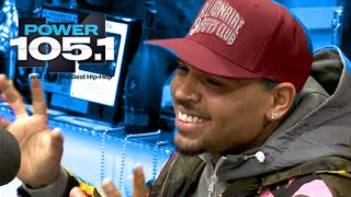 Chris     Brown Interview at The Breakfast Club Power 105.1