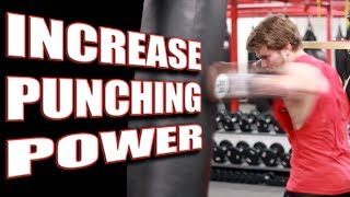 3 Exercises to Increase Your Punching Power