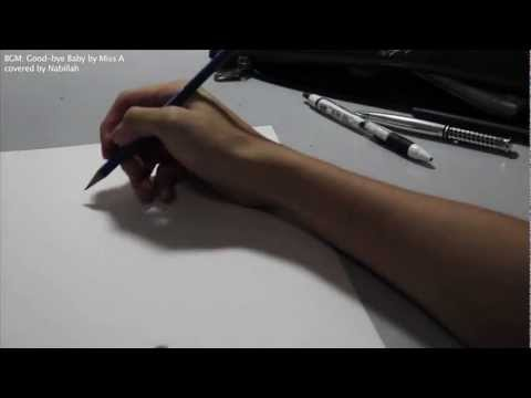 Suzy Bae - Ballpoint Pen Drawing
