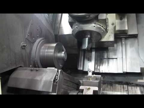 Okuma MacTurn 250W CNC Mill-Turn Center 5-Axis.