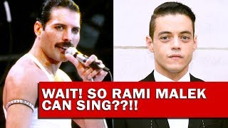 *Leaked* RAMI MALEK sounds INCREDIBLE as Freddie Mercury! | Bohemian Rhapsody (2018)