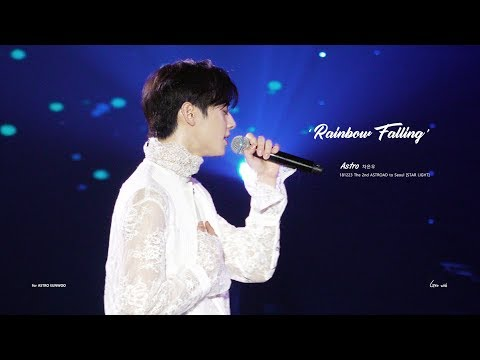 181223 아스트로 차은우 - Rainbow Falling (The 2nd ASTROAD to Seoul Solo stage) [4K] ASTRO CHAEUNWOO