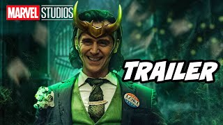 Loki Trailer 2021 Breakdown - Thor 4 and Marvel Phase 4 Easter Eggs