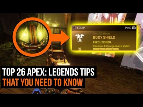 Top 26 Apex: Legends Tips You Need To Know