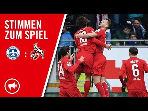 1.FC Köln Stimmen nach Darmstadt