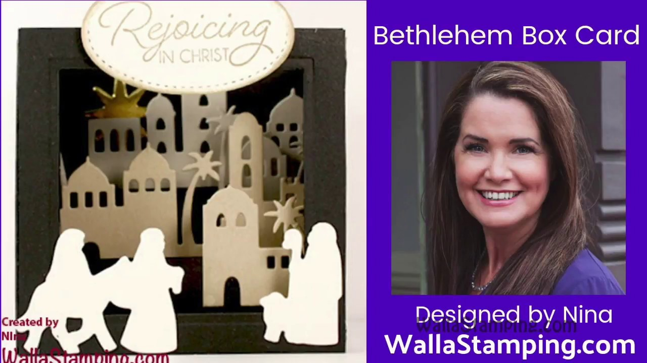Bethleham Box Card