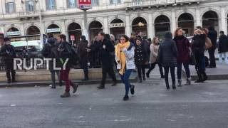 Italy: Earthquake tremors rattle Rome, metro station and buildings evacuated