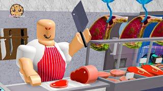 Escape The Evil Butcher Shop ! Roblox Obby Online Video Game
