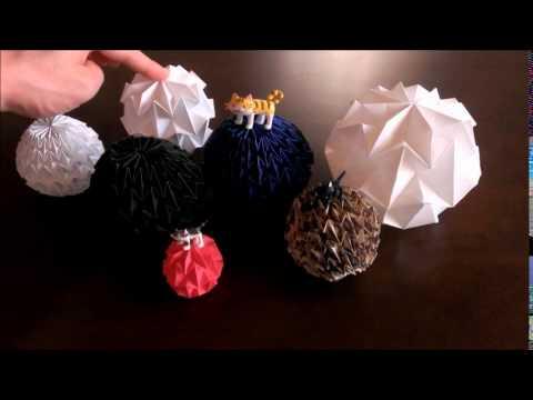折り紙】 マジックボール ... : 箱の折り方 長方形 : 折り方