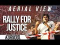 Aerial View Exclusive- Jana Sena Party Rally For Justice- Pawan Kalyan