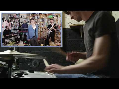Perfume Genius @ NPR Tiny Desk w/(more) drums