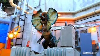 [HD] Jurassic Park Water Ride - Full ride-through - Jurassic  Ride - Universal Studios