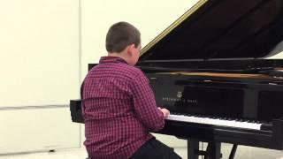 2015 Spring Piano Recital - Zachary