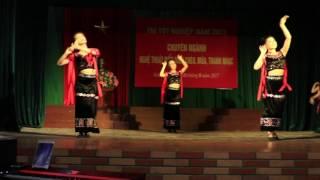 Múa dân tộc Khơ Mú
