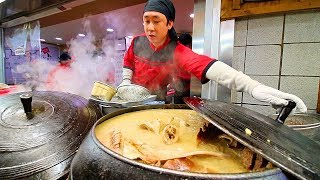 INCREDIBLE Korean Street Food Tour in Gangneung, Korea | BEST STREET FOOD in KOREA + SPICY BURGER