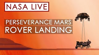 Watch NASA's Perseverance Rover Land on Mars!