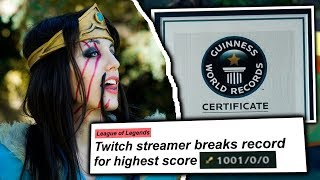 5 WORLD RECORDS Done In League of Legends