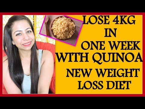 New Weight Loss Diet Plan to Lose 4Kg in 1 Week