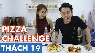 THÁCH 19   PIZZA CHALLENGE (Phở & Ngọc Thảo)   GameShow Hài Hước Việt Nam
