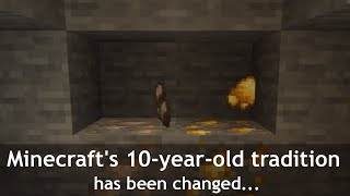 Minecraft changing its more than 10-year-old tradition with 1.17 snapshot...