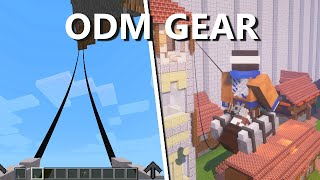 Attack on Titan ODM Gear Mod (Minecraft)