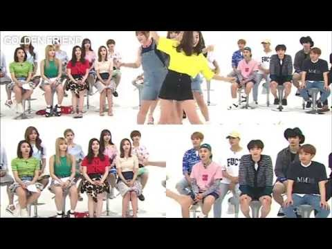 TWICE BTOB GOT7 Reaction To GFRIEND's NAVILLERA 2x Speed || Weekly Idol 5th Anniversary