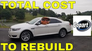 Complete Cost to Fix My COPART Salvage Car