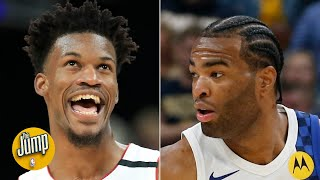'Don't be mad you can't guard me': Breaking down the Jimmy Butler-T.J. Warren feud | The Jump
