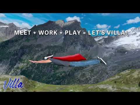 Villa - immersive team collaboration platform in VR!