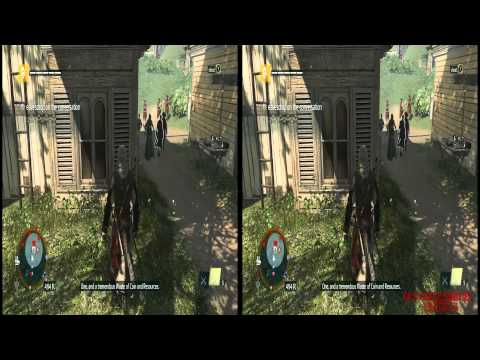 YT3D - Assassins Creed IV 3D: Black Flag Very High Settings S5M2 Walkthrough Live Stream Part 8