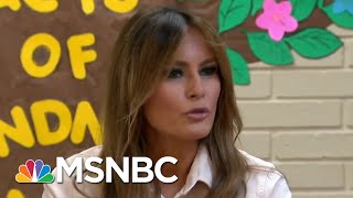 Melania's Trump Jacket: Hidden Message Or Fashion Misstep? | Deadline | MSNBC