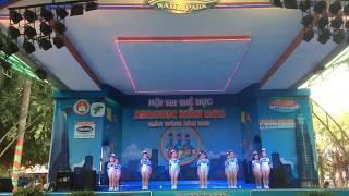 Aerobic Đất Nam - nơi đảo xa - thi đấu aerobic mầm non 2018
