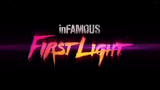 Infamous first light ps4 :  bande-annonce VOST