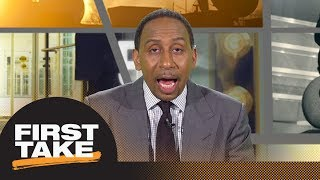 Stephen A. gives Sam Darnold's performance in preseason game a C+   First Take   ESPN