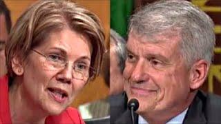 Elizabeth Warren WIPES SMIRK OFF Wells Fargo CEO