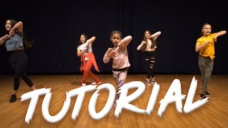 Ariana Grande - 7 Rings (Dance Tutorial) | Easy Kids Choreography | MihranTV