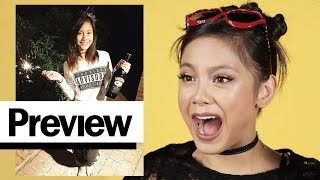 Ylona Garcia Reacts To Her Old Outfit Photos | Outfit Reactions | PREVIEW