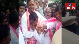 Emotional Rajaiah Bows Down to MLC Palla in Campaign..