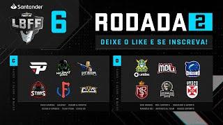 LBFF 6 Série B - Rodada 2 - Grupos C e D | Free Fire