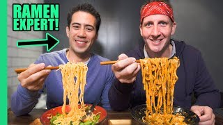 Ultimate TOKYO RAMEN Tour! RAMEN EXPERT Reveals the Best Noodle Spots in Town!