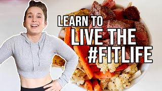 TOP TIPS TO LIVE YOUR BEST FITNESS LIFESTYLE | How to Build a Healthy Lifestyle