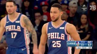 Ben Simmons | Highlights vs NY Knicks (2.13.19)
