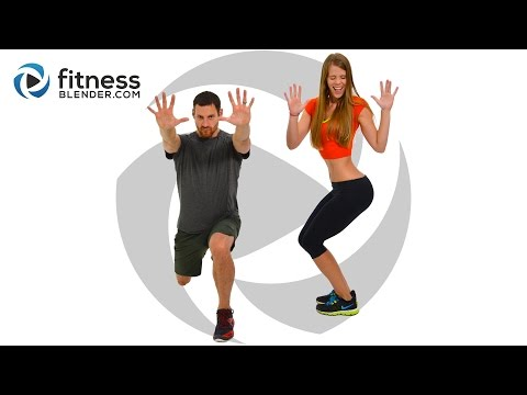 Day 5 of the Workout Challenge for Busy People / HIIT + Butt and Thigh Workout