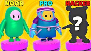 NOOB vs PRO vs HACKER #2 - Fall Guys: Ultimate Knockout